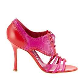 Manolo Blahnik - red×pink.