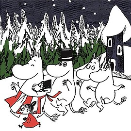 VARIOUS - -Joy With Moomin- Chrstmas Songs for Kids こどものためのクリスマス・ソング・ベスト
