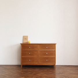 STANDARD TRADE - middle chest・6drawers/ORCHT-M-011C
