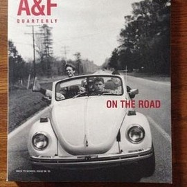 "Abercrombie & Fitch - A&F Quarterly 1998 Back To School Issue ""On The Road"""
