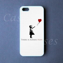 etsy.com - Iphone 5 Case - Banksy Iphone 5 Cover