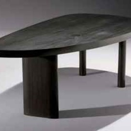 CHARLOTTE PERRIAND  - TABLE 'FORME LIBRE', LE MODELE CREE EN 1956, CELLE-CI REALISEE AU DEBUT DES ANNEES 70, EDITION STEPH SIMON