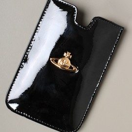 Vivienne Westwood - iPhone Patent Strap Holdall in Black