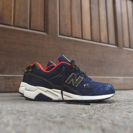 New Balance - New Balance MRT580 Limited Edition - Navy / Red / Gold