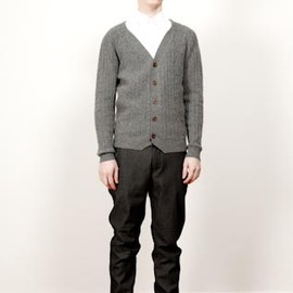 CHAUNCEY - CHAUNCEY Autumn Winter 11-12 collection - Cables cardigan