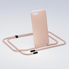 XOUXOU - Powder Pink Silicone Case + Rope