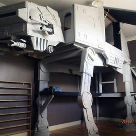 AT-AT bed #starwars #bedroom #geeky