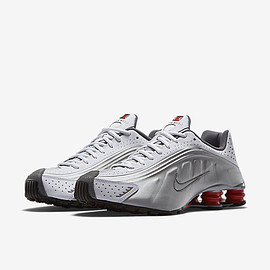 NIKE - Nike Shox R4 White/Comet Red/Black/Metallic Silver 2015年復刻