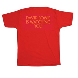 V&A - David Bowie is watching you T-Shirt (Standard Fit)
