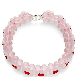SIMONE ROCHA - Pink Floriform Bead Necklace