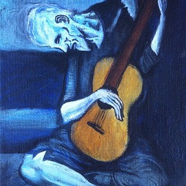 Pablo Picasso - The Old Guitarist