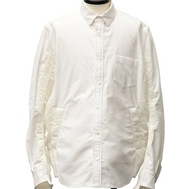 sacai - Nylon Twill x Cotton Shirt