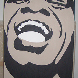 CONRAD LEACH - James Brown 2005 , 200 x 100cm