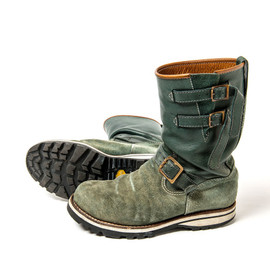 tr.4 suspension - DOUBLE STRAP ENGINEER BOOTS