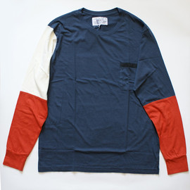 PEEL&LIFT - multi-color long sleeve/black