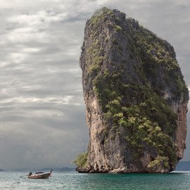 The Andaman Sea near Krabi, Thailand - 'Tropical Iceberg'