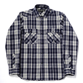 bal - HEATHER PLAID SAFARI SHIRT