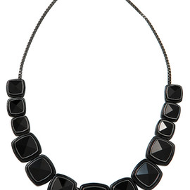 MARC BY MARC JACOBS - block stone necklace