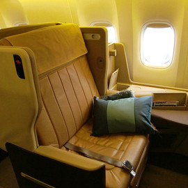 Singapore Ailines - Businesclass-seat