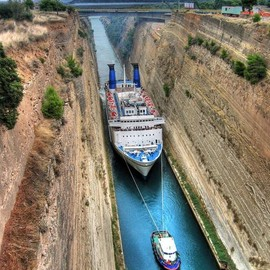 Greece - Corinth Canal