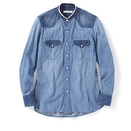 nonnative - RANCHER SHIRT COTTON 6.5oz DENIM VW