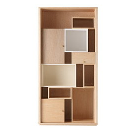 IDEE SHOP  - CONTOUR SHELF Maple