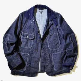 Engineered Garments - Coverall Jacket - Cone Denim