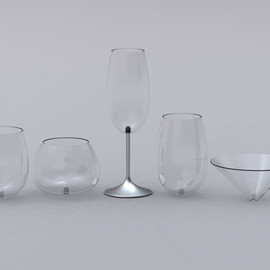 Sherwood Forlee - Modular Wine Glasses