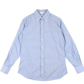 INDIVIDUALIZED SHIRTS - BD Shirts Classic Fit End on End-Blue