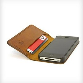 RED CLOUDS COLLECTIVE - SLIMbook Leather iPhone Case & Wallet