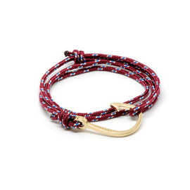 Miansai Utility Rope and Anchor Bracelet