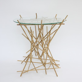 ALESSI - Blow Up Bamboo Collection small table
