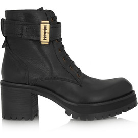 McQ, Alexander McQueen - Leather ankle boots