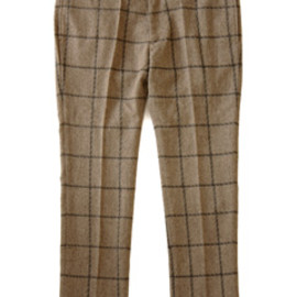 bal - New Tapered Wool Trouser (brown)