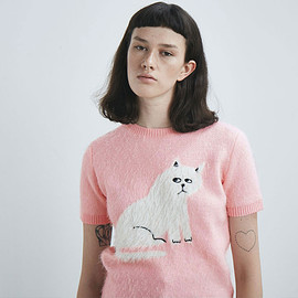 Lazy oaf - Furry Kitty Knitted Top