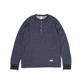 HEAD PORTER PLUS - SIMPLICITY HENLEY NECK TOP