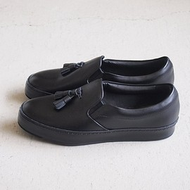 Hender Scheme - dress slip on #black