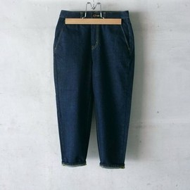 digawel - 8/10 LENGTH TAPERED DENIM PANTS