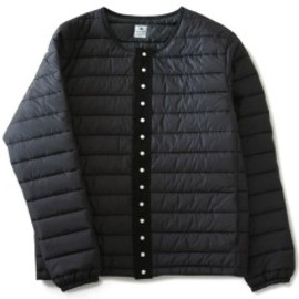 Sasquatchfabrix. - Snap Button Light Down Jacket (black)