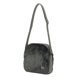 "HEAD PORTER - ""DUPLEX"" SHOULDER BAG OLIVE"