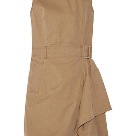 3.1 Phillip Lim - Belted cotton-twill dress