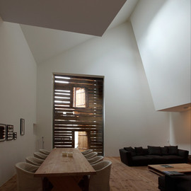 Hans-Jorg Ruch - Lounge & Dining Room, s-chanf House, Switzerland