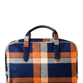 A.P.C. - PLAID WEEKEND BAG