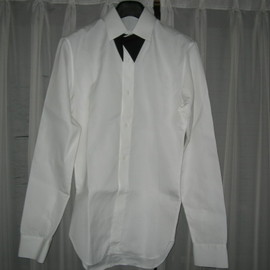 DIOR HOMME - 08S/S White Dress Shirt