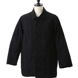 CASEY CASEY - H WAX COAT/BLACK