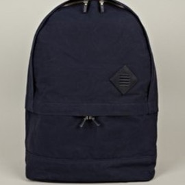 THOM BROWNE - Men's Navy Cotton Backpack