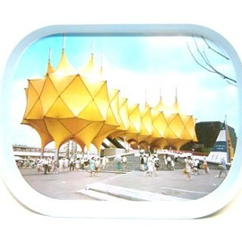 EXPO70 - EXPO70 大阪万博博覧会 通信館パビリオントレー (A communication building pavilion tray boom)