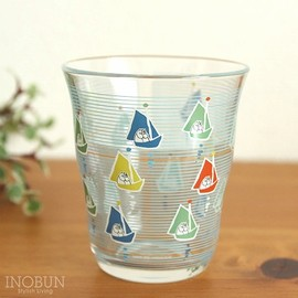 Moomin - Moomin Glassware collectable ムーミン ヨット 270cc