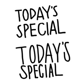 TODAY'S SPECIAL - TODAY'S SPECIAL MUGS