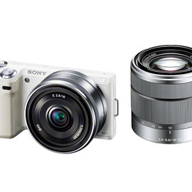 sony - NEX-5N DOUBLE LENS KIT